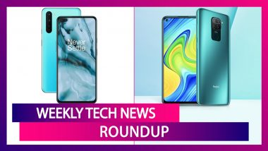 Weekly Tech Roundup: OnePlus Nord, Redmi Note 9, Google Pixel 4a, Galaxy Unpacked 2020 & More